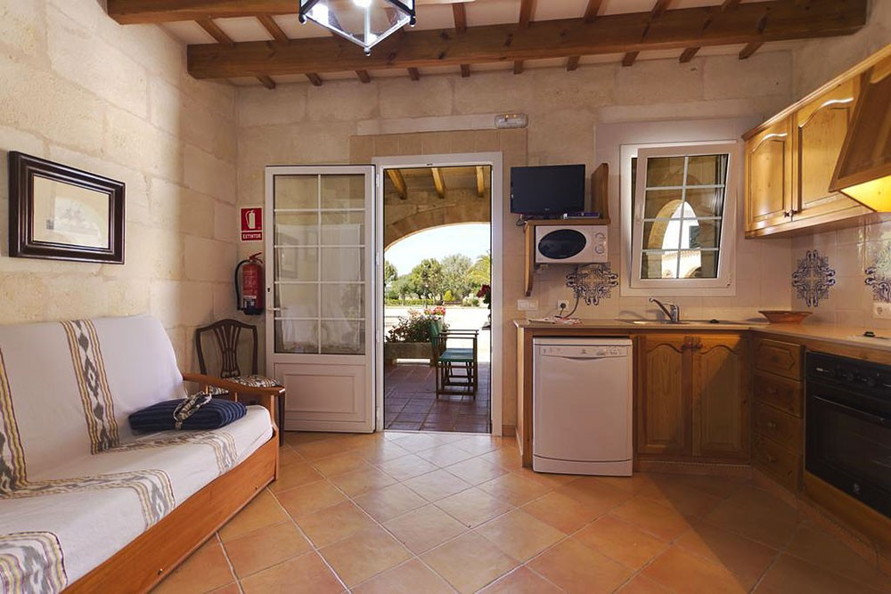 Apartment in a cottage in Menorca