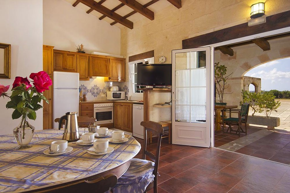 Apartment with 2 bedrooms in the country house of Menorca