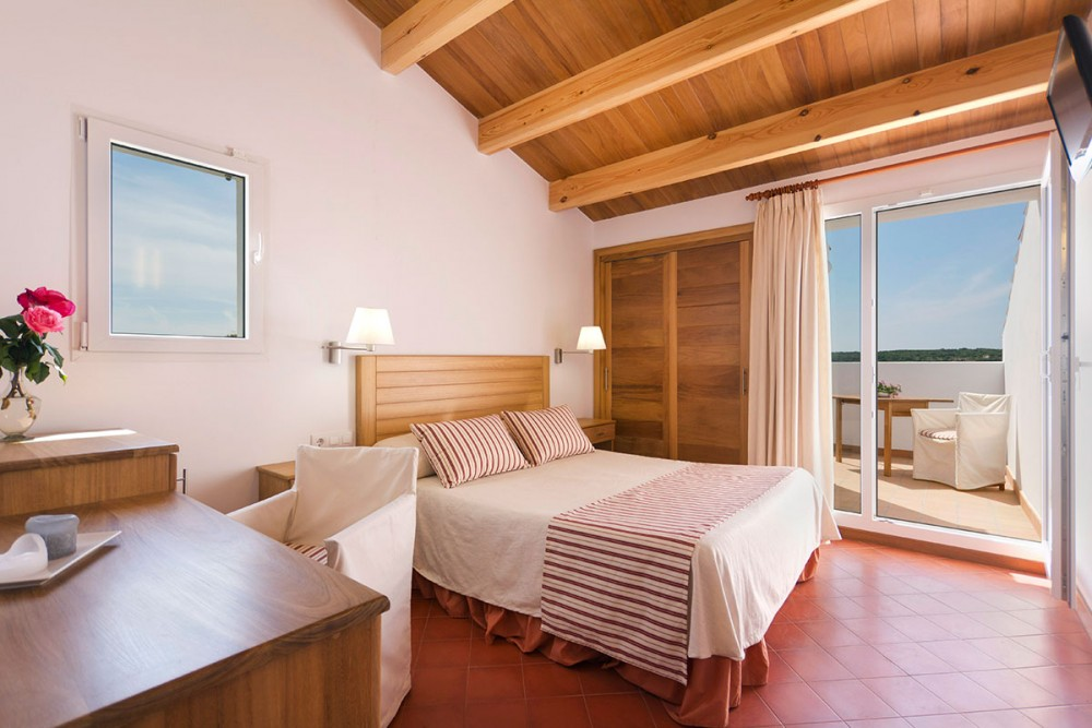 Room with terrace